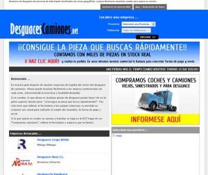 desguacescamiones.net